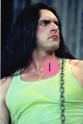 Type O Negative Peter Steele 7 - 5X7 Color Concert Photo Set #4B
