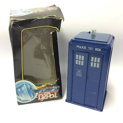 Vintage 1980's Dapol Dr Who Figure Vehicle - Electronic Tardis & Box Working W-5