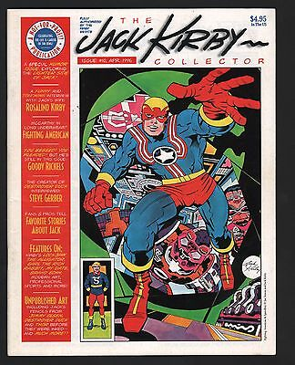 The Jack Kirby Collector Fanzine Magazine #10 F 6.0 White Pages