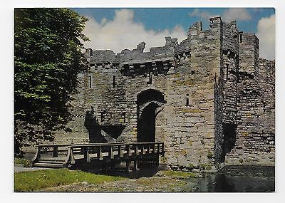 Postcard: Beaumaris Castle, Anglesey, Wales