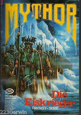 MYTHOR Fantasy Nr. 45 / (1980-1986 Pabel) / DIE EISKRIEGER