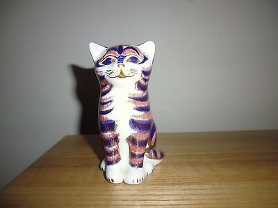 "Royal Crown Derby ""Kitten"" paperweight. Gold stopper, now retired."