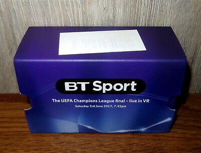 BT Sport Virtual Reality Google Cardboard VR headset