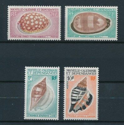 [94271] New Caledonia 1970 Shells good set Very Fine MNH stamps