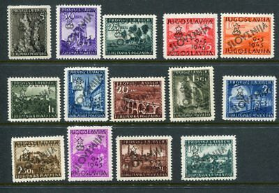 SLOVENIA 1946 Overprinted MNH to 10L 14 Stamps