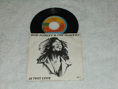 Bob Marley & The Wailers = Is this love  1978 VG+
