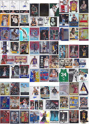 500 NBA MEGA Mixed NBA Lot Michael Jordan Ben Simmons RC Jaylen Brown RC