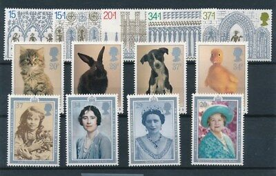 [95534] UK 3 good sets Very Fine MNH stamps
