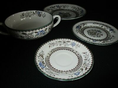 Copeland Spode Chinese Rose - add to a set: twin handled Soup bowl & other items