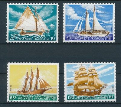 [95951] Polynesia 1977 Boats good set Very Fine MNH stamps