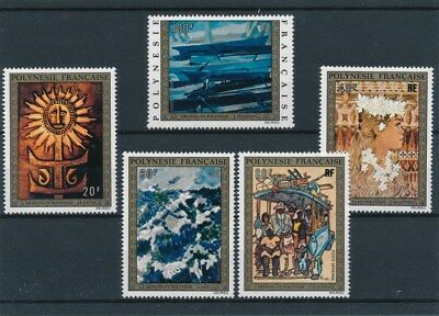 [96298] Polynesia 1973 Paintings good set Very Fine MNH Airmail stamps V: $110