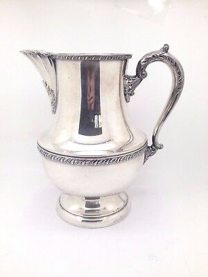 PRINCE REGENT By Benedict Silverplate Water Pitcher