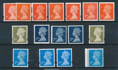 [97064] UK Queen Elizabeth II good lot Very Fine MNH stamps