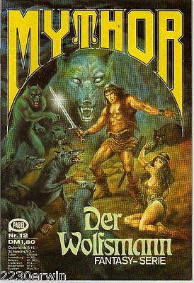 MYTHOR Fantasy Nr. 12 / (1980-1986 Pabel) / DER WOLFSMANN