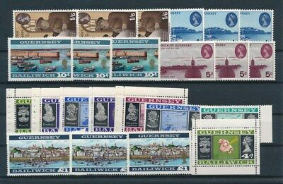 [G95023] Guernsey good lot Very Fine MNH stamps