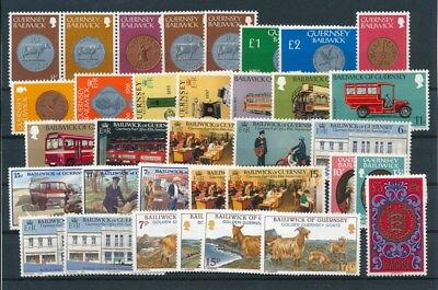 [G95035] Guernsey good lot Very Fine MNH stamps