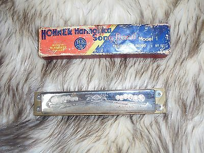 Hohner Harmonica with box model no 1   8211 in g