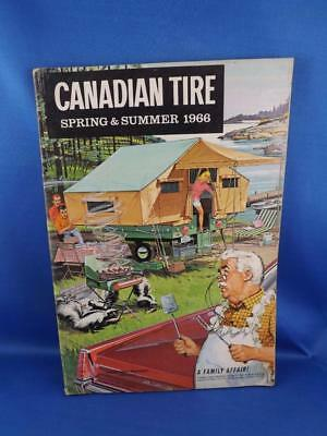 Canadian Tire Catalog Spring & Summer 1966  Golf Clubs Lawn Mowers Paint Tools