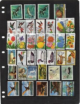 USA - used Commemoratives,etc - 36  stamps