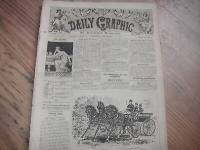 Daily Graphic September 10th 1890