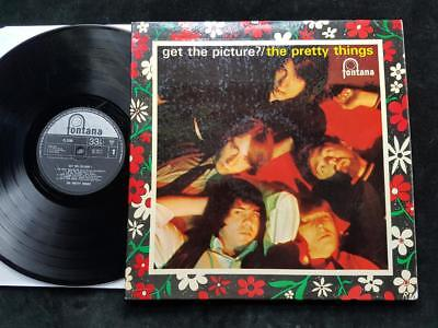 THE PRETTY THINGS Get The Picture LP UK 1st Pressing 1965 Fontana TL.5280 1965