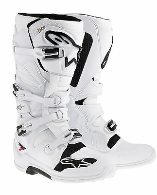 Alpinestars Tech 7 Enduro Stiefel weiss MX Enduro Gr. 44,5 / 10