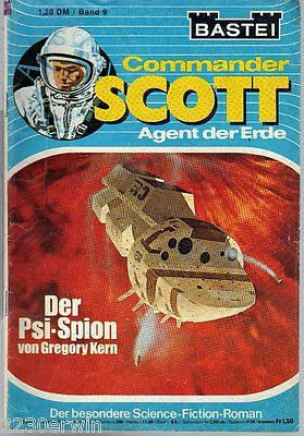 COMMANDER SCOTT  9 / Gregory Kern / (1975-1976 Bastei Verlag)