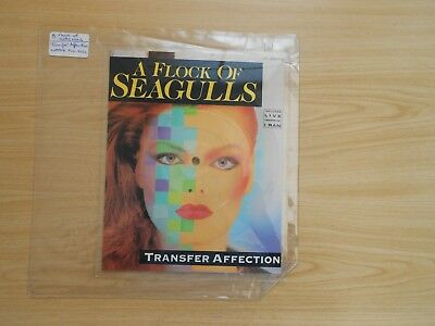 A Flock Of Seagulls=Transfer Affection (Shaped Picture Disc)  Ex
