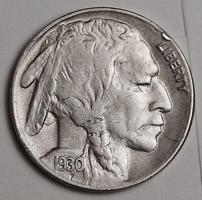 1930-s Buffalo Nickel.  A.U.  110278