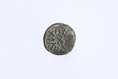 Anglo Saxon Northumbrian Styca Of Aethelred II, moneyer Alghere, S865