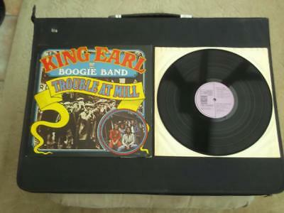 "King Earl Boogie Band Trouble At Mill 1972 Uk Press 12"" Vinyl Record Album"