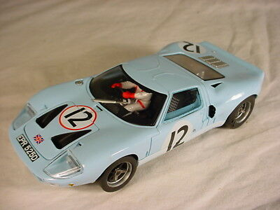 Fly EP0016 Ford GT40 Le Mans 1966 #12 Comstock Racing VG 1/32 slot car