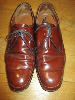 Barker Mens Brown Shoes Size 11 G
