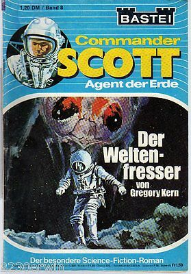 COMMANDER SCOTT  8 / Gregory Kern / (1975-1976 Bastei Verlag)