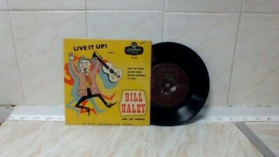 "Bill Haley And His Comets - Live It Up! Pt 3 (7"" Ep London Re-F 1058) Sp-99P!!!!"