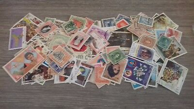 150 Stamps From Central And South America All Different