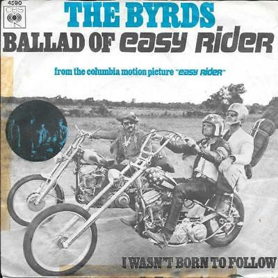 The Byrds 45 Ballad Of Easy Rider+Ps Holland Rare