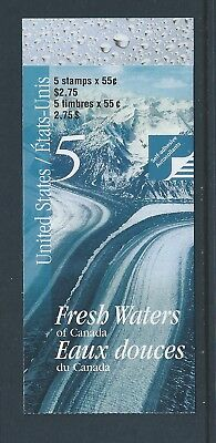 Canada Booklet 2000 Fresh Waters of Canada #BK228b MNH