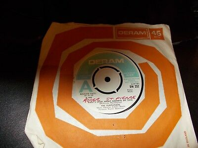 Northern Soul The Flirtations Uk Deram Dm 252 Demo Mint- Very Rare