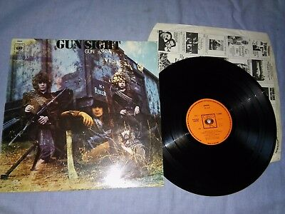 THE GUN <gunsight> 1969 - RARE FIRST UK PRESS - ORANGE CBS LAB -EX+