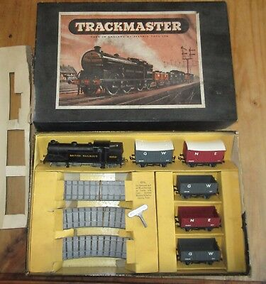 Vintage Pyramid Trackmaster Oo Train Set - Complete, Running