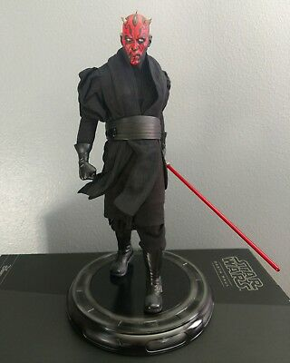 Sideshow Collectibles Star Wars 1/4 Premium Format Exclusive Darth Maul Statue
