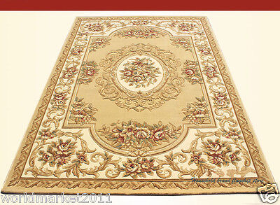 A7 European Style Pure Wool Length 150CM Manual Weaving Carved Flowers Carpet