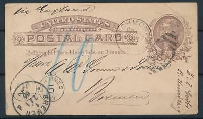 [4863] USA good old postcard in very fine quality