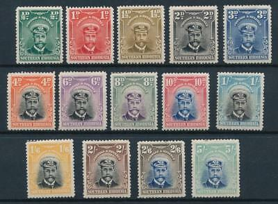 [54130] Southern Rhodesia 1924 Very good set MH stamps $315