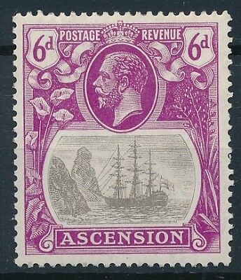 [54158] Ascension 1924-27 good MH Very Fine old stamp $70