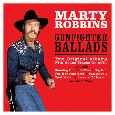 Marty Robbins GUNFIGHTER BALLADS: TWO ORIGINAL ALBUMS (NOT2CD670) New 2 CD