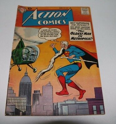 Action Comics #251 April 1959 Superman, Announcment of Supergirl, Very good