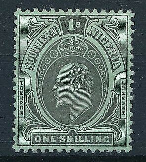 [54511] Southern Nigeria 1907-10 good MH Very Fine stamp