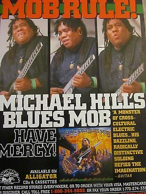 Michael Hill's Blues Mob, Have Mercy, Full Page Promotional Ad